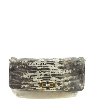 Lanvin Grey Exotic leathers Handbags