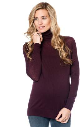 Vince Pea Collection Maternity Turtleneck Sweater
