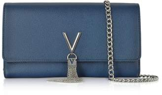 Mario Valentino Valentino by Blue Lizard Embossed Eco Leather Divina Shoulder Bag