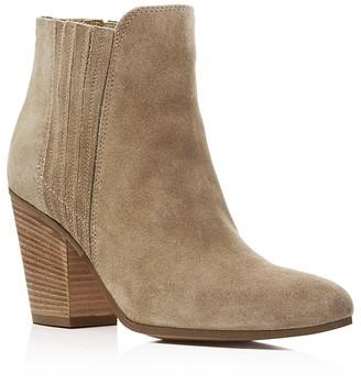 Kenneth Cole Maci Almond Toe High Heel Booties $200 thestylecure.com