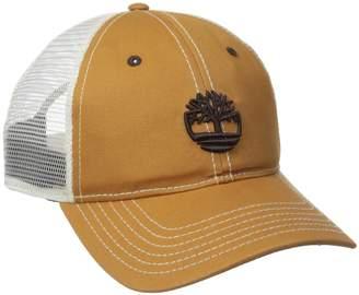 Timberland Men's Cotton Twill Trucker Cap