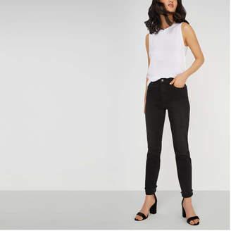 Joe Fresh Women's High Rise Slim Straight Jean