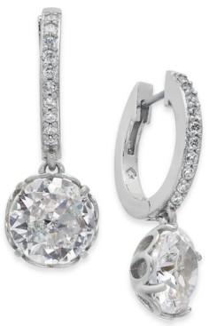 Kate Spade Crystal Huggie Hoop Earrings