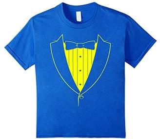 Yellow Basic Tuxedo T-shirt