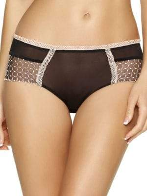 Felina Unveiled By Bissette Geometric Embroidered Boyleg Panties