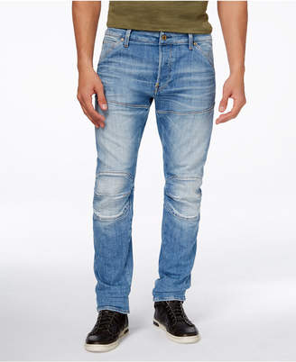 G-Star RAW Men's 5620 Super Slim Fit Deconstructed Jeans $120 thestylecure.com