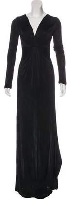 Diane von Furstenberg Surplice Neck Maxi Dress w/ Tags