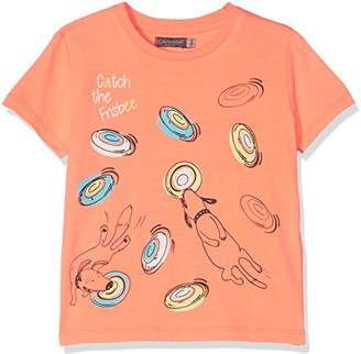 Camilla And Marc Canada House Baby Boys' Bbfrisbee T-Shirt,98 cm