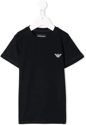Emporio Armani Kids logo short-sleeve T-shirt