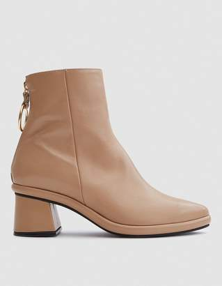 BEIGE Reike Nen Ring Slim Boots in