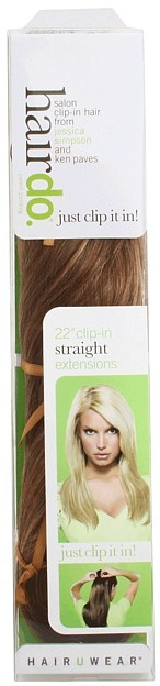 Hairdo - 22 Clip-in Hair Extension Straight (Glazed Strawberry) - Accessories