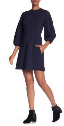 Tibi Bond Stretch Knit Sculpted Dress