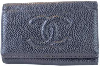 Chanel Leather key ring