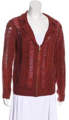Opening Ceremony Rodarte x Distressed Cable Knit Cardigan w/ Tags