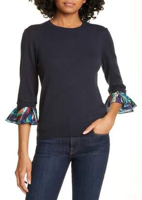 Ted Baker Jynifer Supernatural Contrast Cuff Sweater