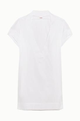 Eres Zephyr Renee Cotton-jersey Kaftan - White