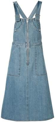 Sea denim dungaree dress
