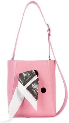 Calvin Klein bandana bucket bag