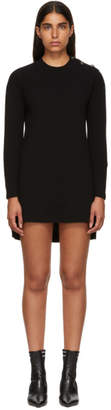 Fendi Black Cashmere Forever Dress