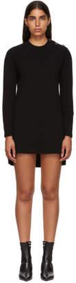 Fendi Black Cashmere Forever Dress