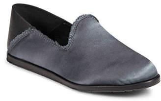 Pedro Garcia Frayed Satin Slippers