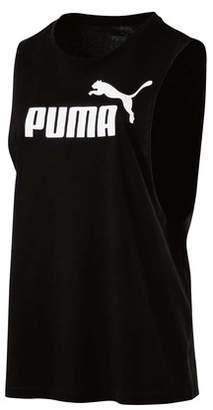 Puma Women's Cut Off Boyfriend Tank
