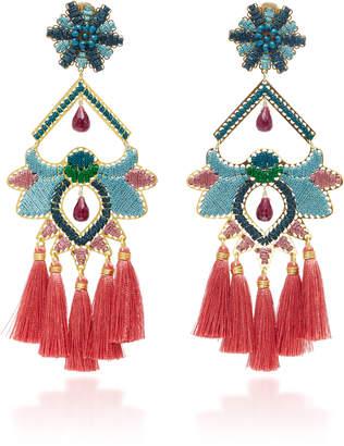 Mercedes Salazar Flor Del Paramo Rosa Earrings