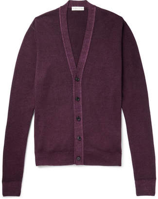 Etro Slim-Fit Wool Cardigan