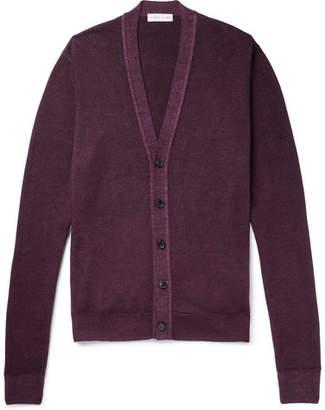 Etro Slim-Fit Wool Cardigan