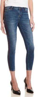 Buffalo David Bitton Faith Mid-Rise Skinny Stretch Jeans
