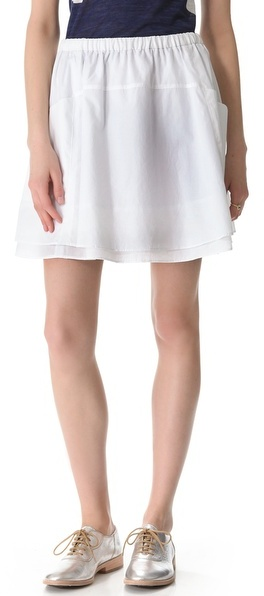 Marc by Marc Jacobs Justine Cotton Skirt