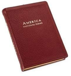 Graphic Image Leather-Bound America National Parks Book