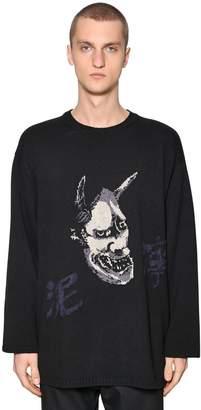 Yohji Yamamoto Devil Wool Knit Sweater