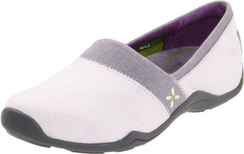 Ahnu Women's Jackie Canvas Leather Slip-On