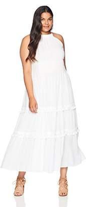Eliza J Women's Plus Size Halter Maxi Dress