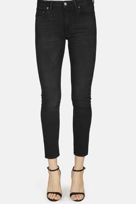Acne Studios Climb Denim Skinny Jean - Used Black