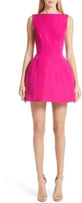 Brandon Maxwell Silk Faille Bubble Dress