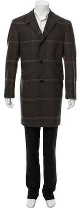Etro Wool Plaid Coat