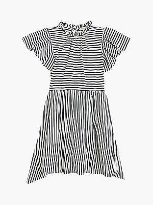 J.Crew crewcuts by Girls' Striped Scarlett Dress, Blue