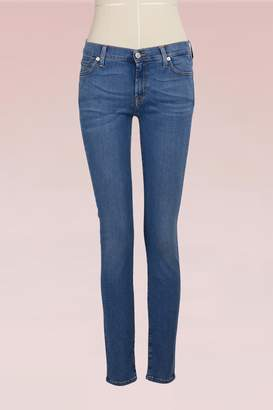 7 For All Mankind Low-waist Skinny Jeans