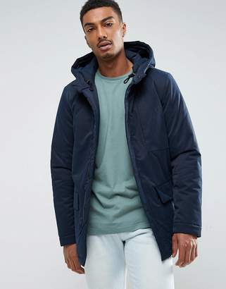 Selected Padded Parka with Hood
