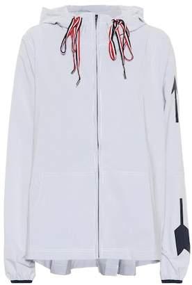 The Upside Dupont Ash hooded jacket