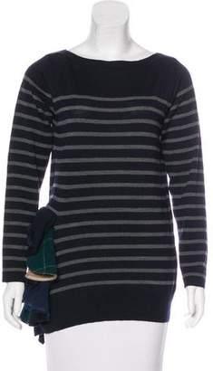 Sacai Striped Wool Sweater