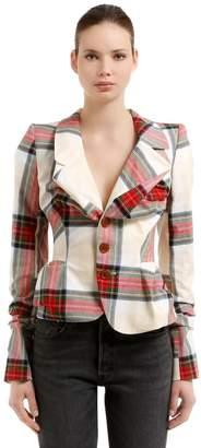 Vivienne Westwood Cotton Tartan Blazer