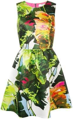 Blugirl floral flared dress