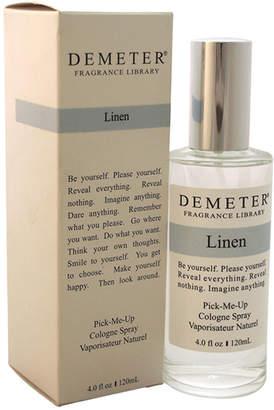 Demeter 4Oz Unisex Linen Cologne Spray