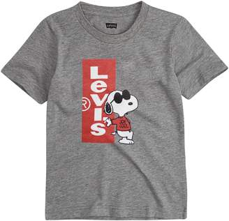 ecdfa015da Levi s Levis Boys 4-7 Peanuts Snoopy in Sunglasses Graphic Tee