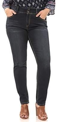 Angels Jeans Women's Plus Size Curvy Skinny Jean