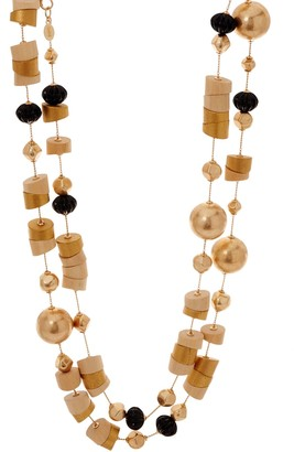 Linea By Louis Dell'olio by Louis Dell'Olio Aztec Style Bead Necklace