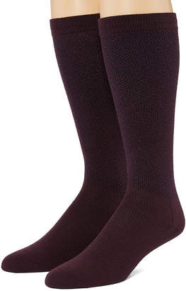 Dr. Scholl's Dr. Scholls Dr Scholls Graduated Compression 2 Pair Over the Calf Socks-Mens